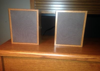 External speakers